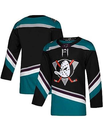 CMAO Byfuglien # 33 Jets Hockey su Ghiaccio Abbigliamento Sportivo Manica Lunga Maglia da Hockey su Ghiaccio Maglietta Allentata da Hockey Maglia da Uomo Puck Maglia Uniforme Squadra Nero XL