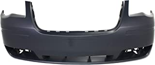 Front Bumper Cover Compatible with CHRYSLER TOWN AND COUNTRY 2008-2010 Primed