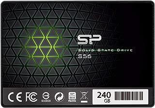 シリコンパワー SSD 240GB TLC採用 Phisonコントローラー SATA3 6Gb/s  2.5インチ 7mm  3年保証 S56シリーズ  SP240GBSS3S56B25