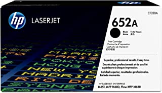 HP 652A Hewlett Packard Original LaserJet Colour Sphere Toner Cartridge, Black - CF320A