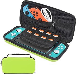Housse de transport pour Nintendo Switch Lite - Housse de transport rigide portable avec 8 emplacements pour cartes de jeu...