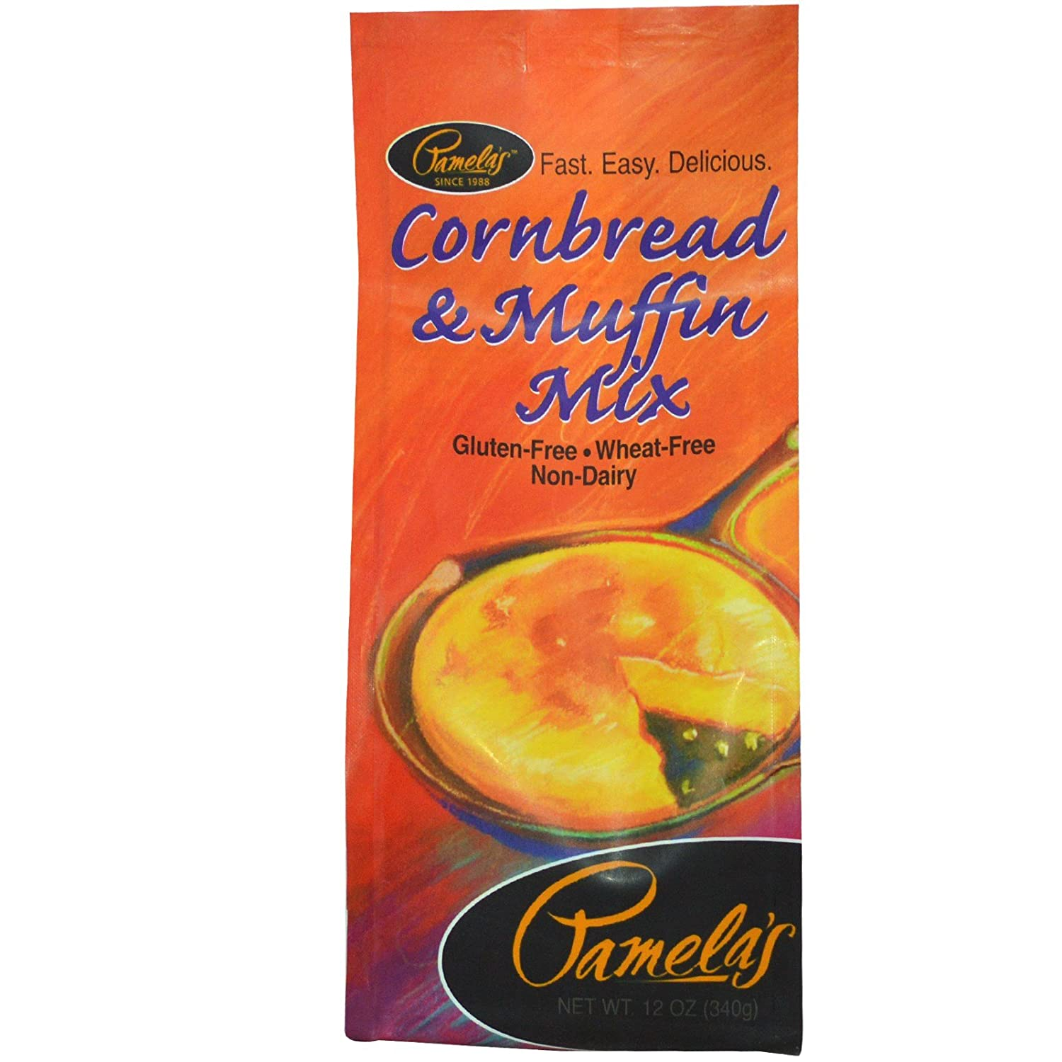 Pamela's Products Large special price !! OFFer Cornbread Muffin Mix 12 oz 340 PACK 1 g