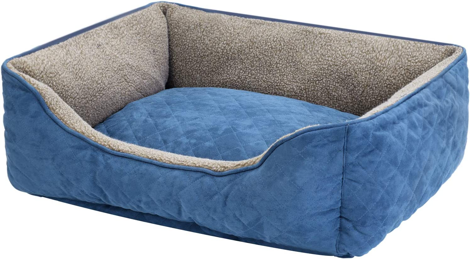 AONSV Super Deluxe Dog Indianapolis Mall specialty shop Bed Good Support i Cover Furniture-Grade