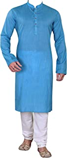 Mens traditional Plain simple casual wear Cotton Sherwani kurta pajama set 773