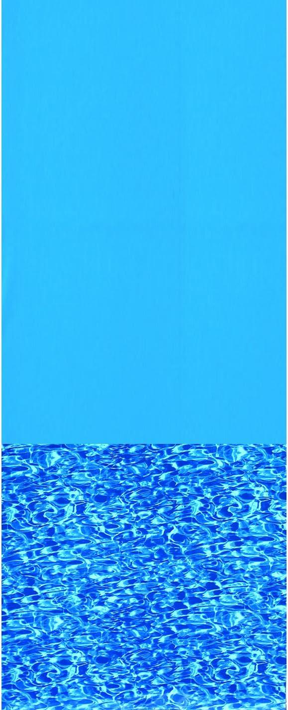 Swimline 18-Feet Round Swirl Bottom Challenge Latest item the lowest price of Japan ☆ Gauge Liner Overlap Standard