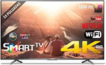 "TV LED 55"" INFINITON 4K INTV-55 WiFi Smart TV 1800Hz"