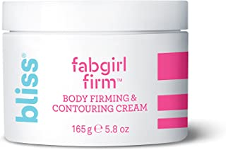 Bliss FabGirl Firm | Body Firming & Contouring Cream | Paraben Free, Cruelty Free | 5.8 fl oz