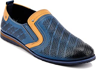 ID Men's Navy Blue Casual Shoes