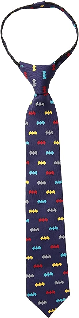 Cufflinks Inc. - Classic Batman Multicolor Silk Tie (Toddler/Little Kid/Big Kid)