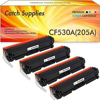 CatchSupplies reemplazo CE255X Cartucho de tóner Negro de Alto Rendimiento para la serie HP 55X   12.500 rendimiento   compatible con la impresora HP LaserJet P3011, P3015, P3016, MFP M525, MFP M521DN