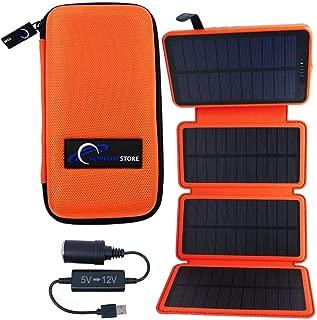 SatPhoneStore SolarBoost X Solar Charger with Tough Case for Iridium 9555, Iridium 9575, Iridium GO, Inmarsat IsatPhone 2 & Globalstar Sat-Fi2