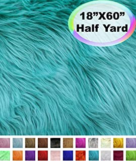 Best faux fur fabric by the yard long pile Reviews