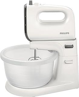 comprar comparacion Philips Daily HR3745/00 - Batidora Amasadora, 450 W, 5 Velocidades, Bowl Incluido, Color Blanco