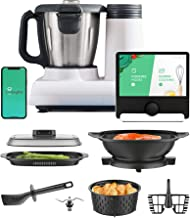 Multo by CookingPal ، غذاساز کوچک جمع و جور با قابلیت چند کاره با دستور العمل های راهنما | WiFi داخلی | اجاق گاز را ریز خرد کرده ، ورز دهید ، بپزید و بپزید.