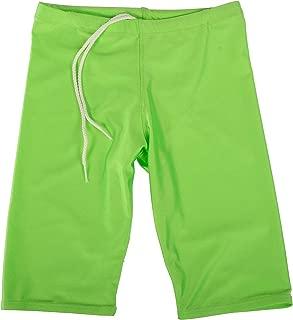 GaryM Kids Boys Solid Jammer Swim Suit Size 4-14