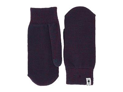 Smartwool Cozy Mitten (Sangria/Deep Marlin Marl) Over-Mits Gloves