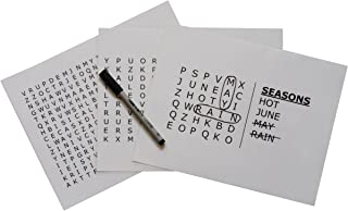 """Keeping Busy """"Seasons Word Search Dementia and Alzheimer's Grab & Go Engaging Puzzles / Activities / Games for Older Adults"""