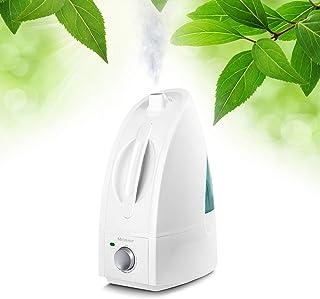 Medisana AH 660 Humidificador ultrasónico, purificador de aire para habitaciones de hasta 30m², nebulizador para dormitorios, sala de estar contra aire seco, 4,5 litros