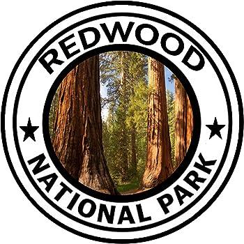 "Redwood National Park Sticker 3/"""