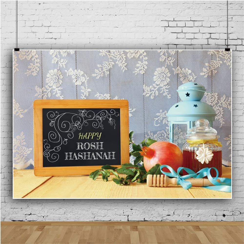 Yeele Happy At the price of surprise Rosh Hashanah Backdrop Photography 9x6ft Vinyl New color for P