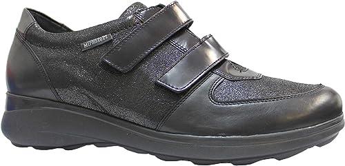 Mephisto mujer Judy Cuero negro zapatos 38 EU