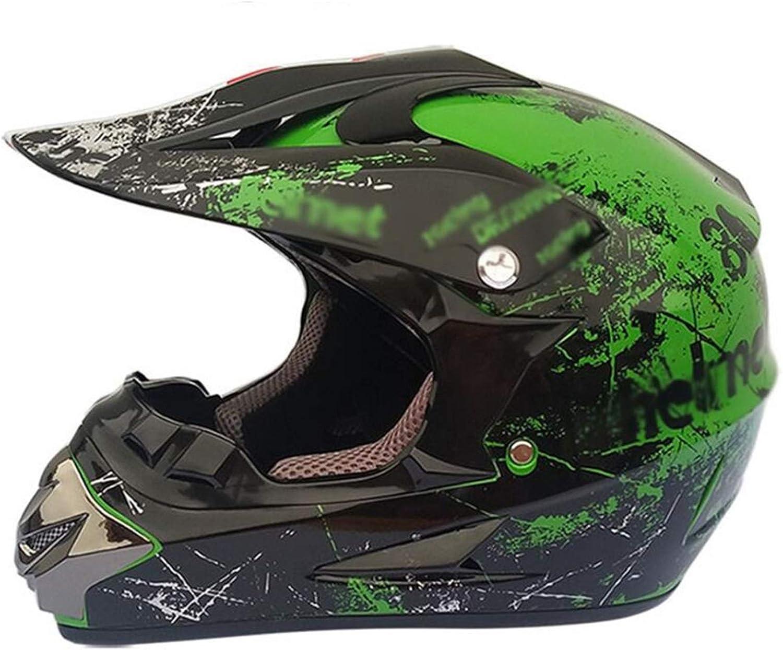 CHLDDHC Motorbike Super sale period limited Motocross Helmet + Crash He Sports Goggles ATV low-pricing