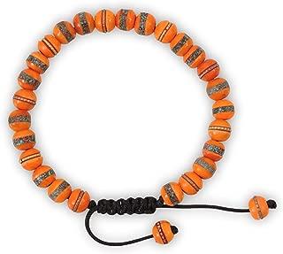 Embedded Medicine Bracelet Yoga Healing Beads Adjustable Wrist Mala Many Color Choices