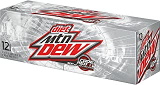Diet Mountain Dew Code Red Cans Code Red (12 count, 12 oz each)