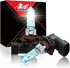 WinPower 9005 65W High Brightness Halogen Bulb 5500K White Headlight Light, Pack of 2