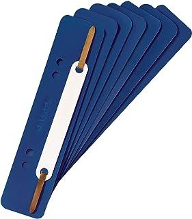 The Original Falken - Pack of 250 Plastic Filing Strips, Black Blue