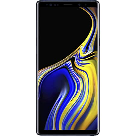 """Samsung Galaxy Note 9 Factory Unlocked Phone with 6.4"""" Screen and 512GB - Ocean Blue"""