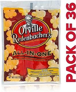 Orville Redenbacher All in One Coconut Oil Popcorn Kit, 8 Ounce (Pack of 36)