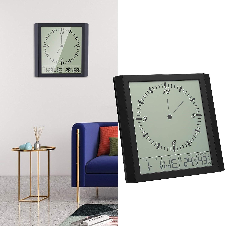 Qinyayoa Digital Clock Temperature Nashville-Davidson Mall Humidity Save money Multi-Functi