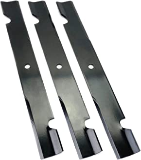 """USA Mower Blades® Toothed High Lift for Kees 101733 61/"""" Deck 3"""