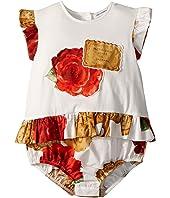 Dolce & Gabbana Kids - Biscotti Print Romper (Infant)
