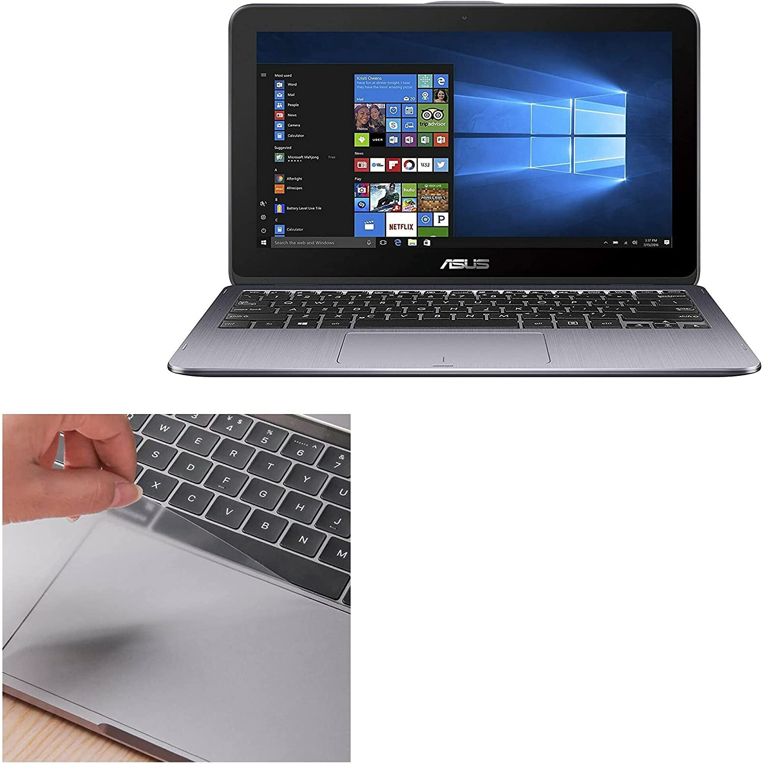 Touchpad Max 71% OFF Protector for ASUS Limited time trial price VivoBook 12 P TP203 Flip