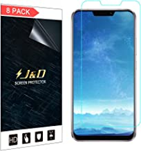 J&D Compatible for 8-Pack ZenFone 5Z Screen Protector, [Not Full Coverage] HD Clear Film Shield Screen Protector for ASUS ZenFone 5Z Crystal Clear Screen Protector - [NOT for ZenFone 5 Lite/ZenFone 5]