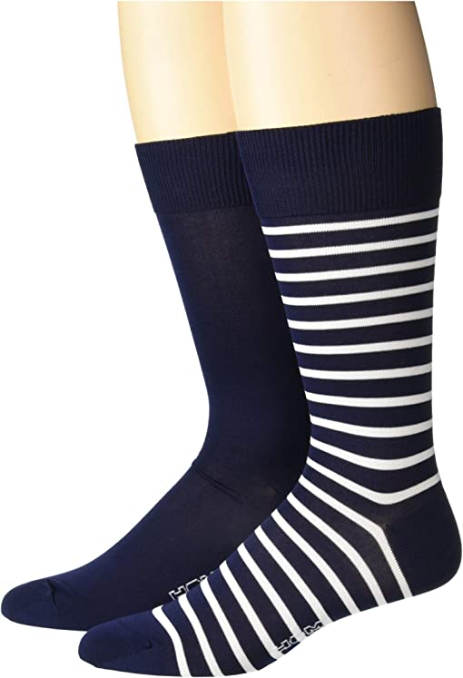 Navy/Navy Stripes
