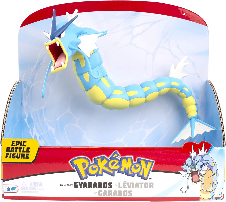 Pokemon Gyarados 12-Inch Epic Battle Figure - Authentic Details, Fully Multi