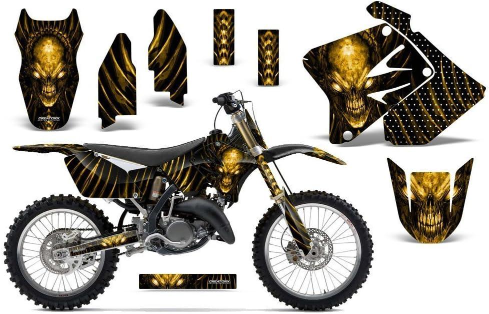 CreatorX Graphics Kit Decals Stickers for Grap 125 Virginia Beach Mall Fashionable RM Suzuki 250