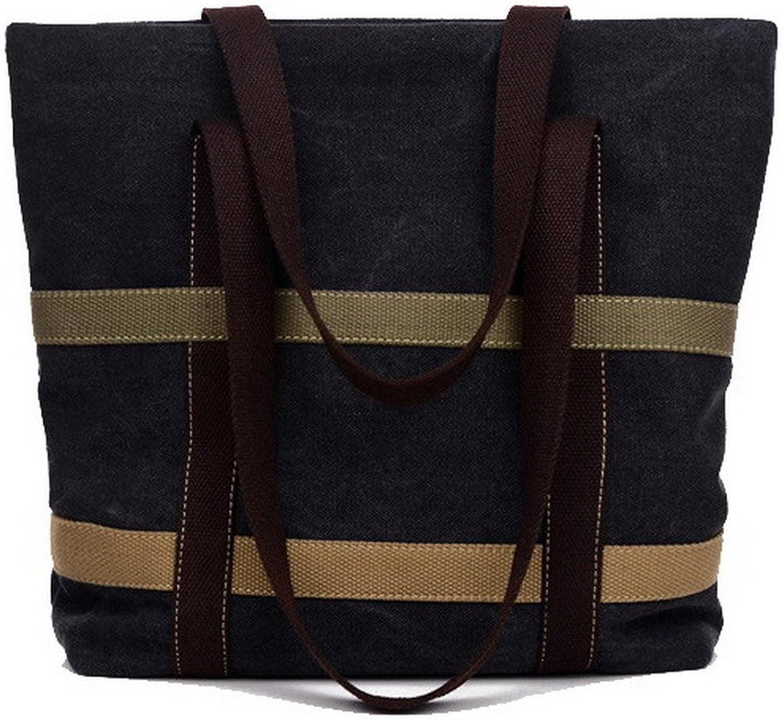 Amonymode Woherrar duk Shoulder väskas väskas väskas Tote -Style Shopping Tote väskas, BUtbS181495  bästa priser och färskaste stilar