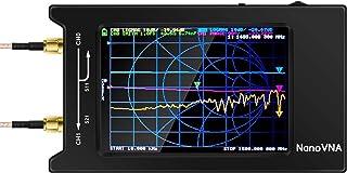 Iycorish New NanoVNA-H4 4 Inch LCD Display 50KHz-1.5GHz VNA HF VHF UHF UV Vector Network Analyzer Antenna Analyzer