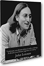 Dream Together, John Lennon Quote Canvas Wall Art