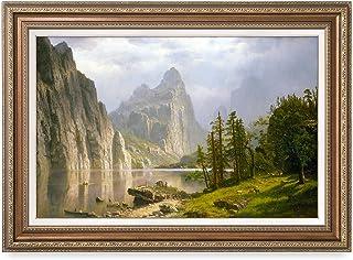 DECORARTS -Merced River, Yosemite Valley, Albert Bierstadt Classic Art Reproductions...