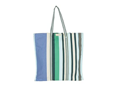 Lacoste Beach Stripes Tote Bag