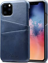 Case for iPhone 11 Pro Max,TACOO Premium PU Leather Card Holder Durable Protective Back Cover Phone Shell