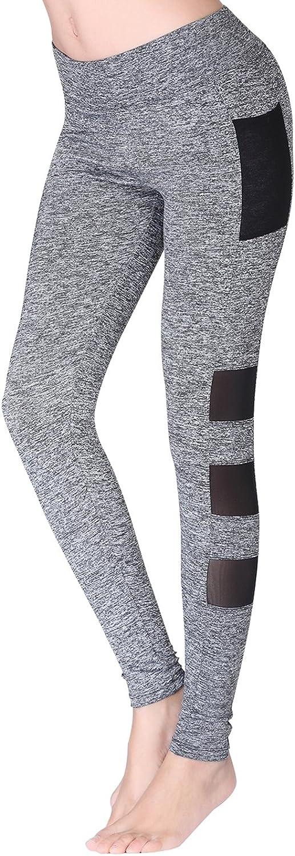 N NORA TWIPS Womens Yoga Pants with Pockets, Power Flex,Tummy Control Workout Yoga Capris Pants Leggings