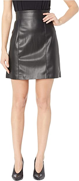315dc3cca3 Blank NYC Vegan Leather Pull-On Pencil Skirt in Schooled-Black at ...