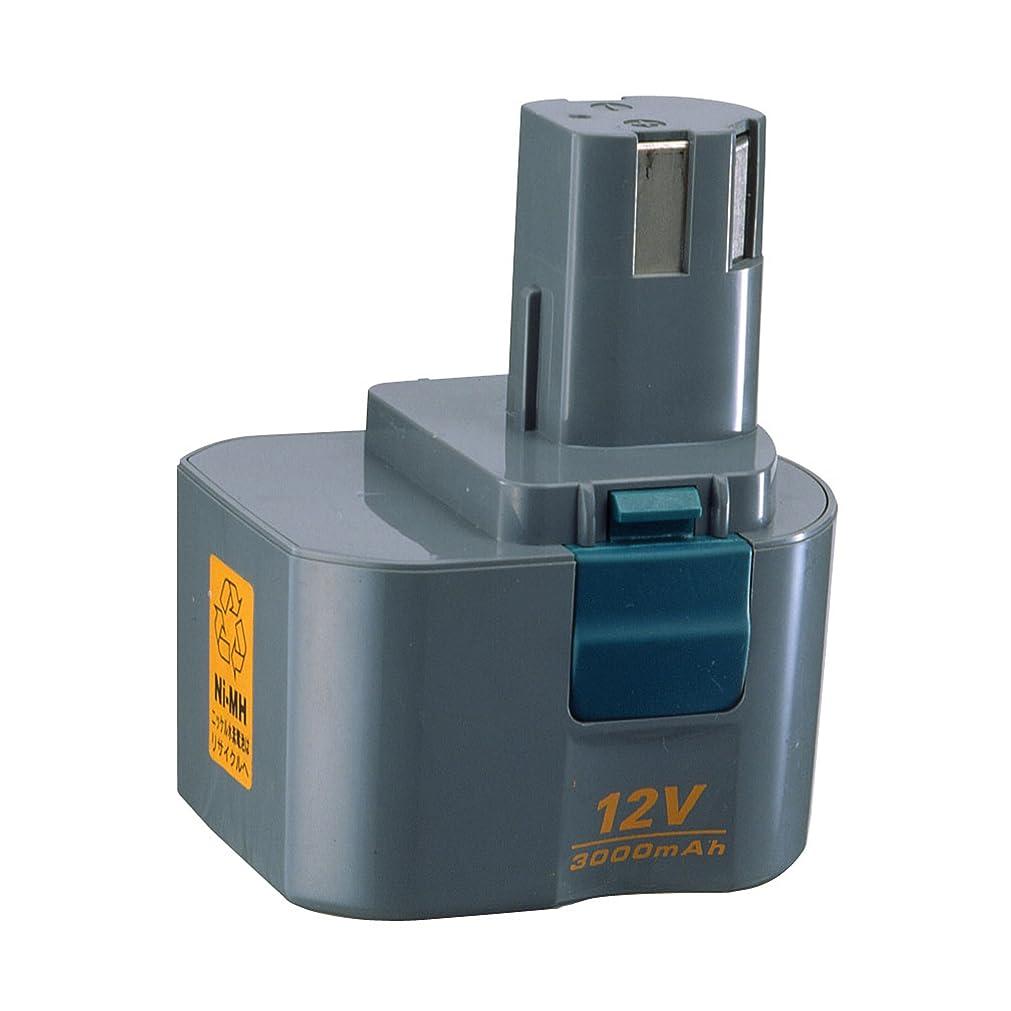 ベテラン壮大ノートリョービ(RYOBI) 電池パック ニッケル水素 3000mAh B-1230H 12V 6404851