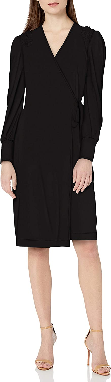 Amazon Brand lowest Max 74% OFF price - Lark Ro Women's Jersey Shou V-Neck Ruffle Matte